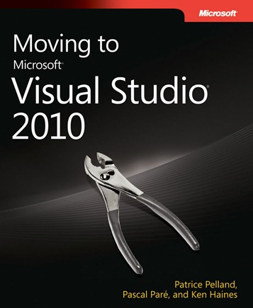 Free e-book: Moving to Microsoft Visual Studio 2010
