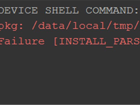Failure [INSTALL_PARSE_FAILED_INCONSISTENT_CERTIFICATES]