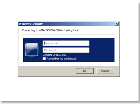 Avoid windows authentication login prompt in IE