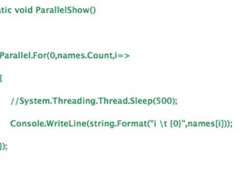Parallel programming is not always the fastest way