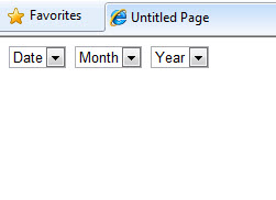 Get datetime out in 3 dropdownlists (day, month, year)